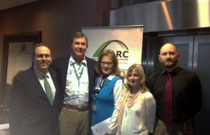 iarc staff with john & edi at pan am